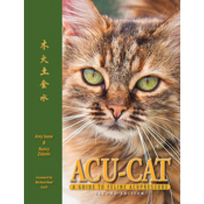 Acu-Cat: A Guide to Feline Acupressure, 2nd Edition BC-593