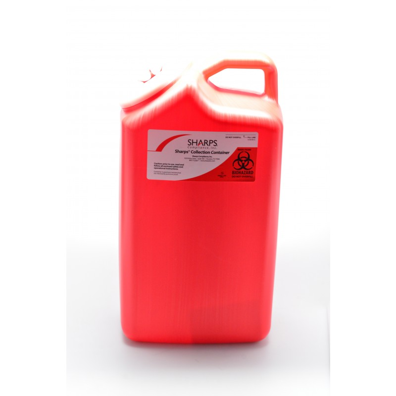 3 Gallon Sharps Deposal by Mail GS-243