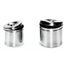 Medium Stainless Steel Jars GS-301A
