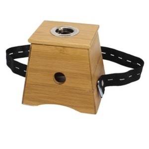 Single Holder Bamboo Moxa Roll Box MX-71